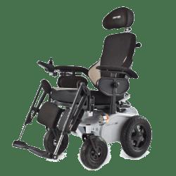 Carrozzine elettriche per disabili superleggere e pieghevoli