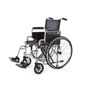 Carrozzine per disabili, manuali a doppia crociera e a crociera singola