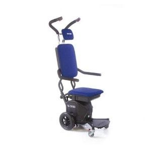 Montascale a ruote per disabili e anziani